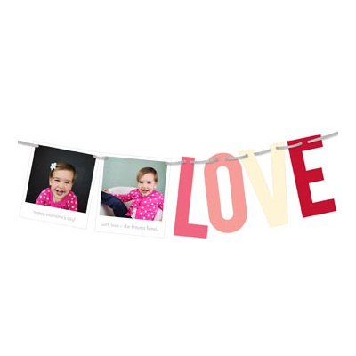 Snapshots of Love Valentine's Day Photo Cards