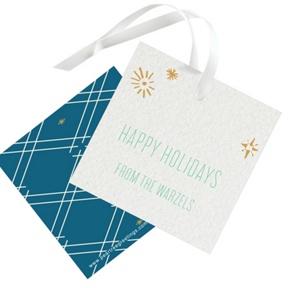 Twinkling Trees -- Christmas Gift Tags