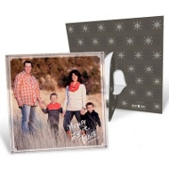 Clear Favorite Picture Frame New Year's Cards