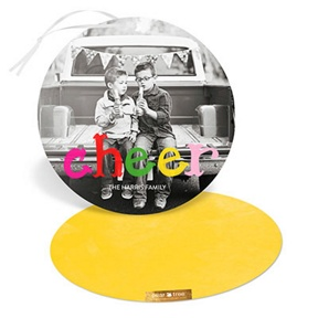 Colorful Cheer Ornament -- Christmas Cards