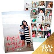 Merry Little Photos Vertical Christmas Cards
