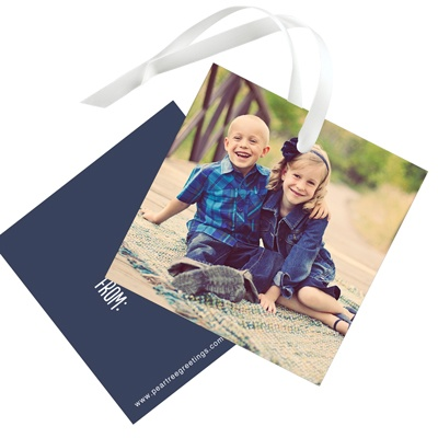 All About The Photo Christmas Gift Tags