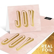Foil Joy Watercolor Note Cards