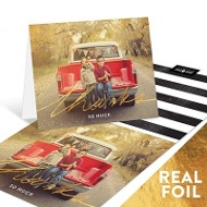 Foil & Stripes Photo --Thank You Cards