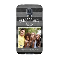Chalkboard Stripes Custom Phone Case Graduation Gifts
