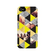 Faux Foil Triangles Custom Phone Case Graduation Gifts