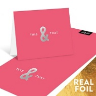 This & That Foil Personalized Note Cards