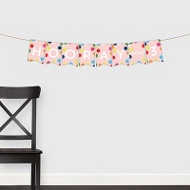 Circus Colors Banner -- Kids Party Decorations