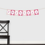 Glitter Princess Banner -- Kids Party Decorations