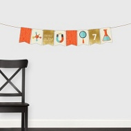 Mad Scientist Banner -- Kids Party Decorations
