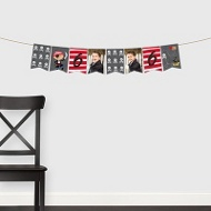 Yo Ho Pirate Banner -- Kids Party Decorations