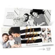 Holiday Hello Slider Premium Christmas Cards