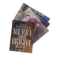 Merry And Bright Swatch Book Premium Christmas Cards