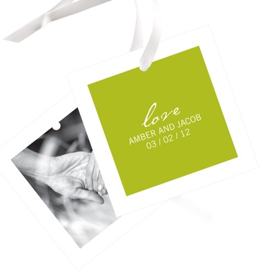 Picture This Wedding Favor Tags