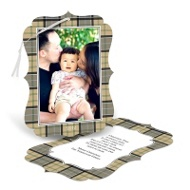 Plaid Photo Ornament Frame
