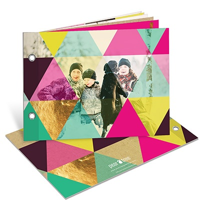Photo Christmas Cards  -- Colorful Kaleidoscope Photo Book