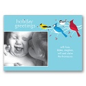 Colorful Gathering Photo Panel Card