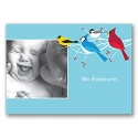 Colorful Gathering Photo Note Card