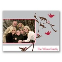 Birds and Berries Photo Note Card
