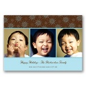Snow Fun Photo Panel Card