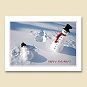 Snowman Angel Card