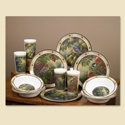 Garden Visitors Dinnerware Set