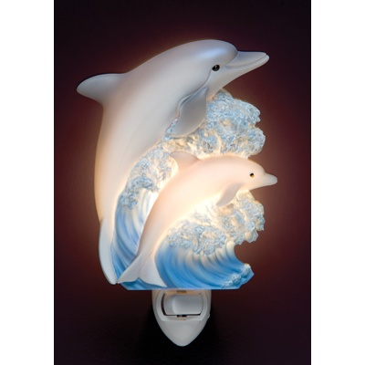 Dolphins Night Light