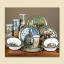 American Wilderness Dinnerware Set