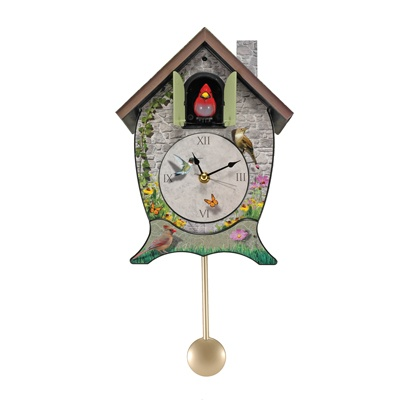 Garden Cottage Cuckoo Clock