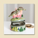 Turtle Porcelain Box