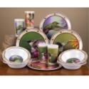 Hummingbird Dinnerware Set
