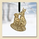 Rabbits Ornament