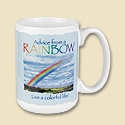 Advice from a Rainbow Mug