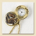 Owl Family Locket Watch