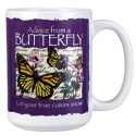 Advice from a Butterfly Mug