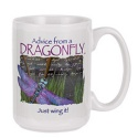 Advice from a Dragonfly Mug