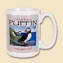 Advice from a Puffin Mug