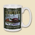 Advice from a Turtle Mug