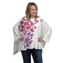 Wildflowers and Hummingbird Poncho