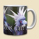 Bad Heron Day Mug