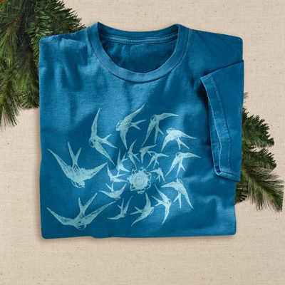 Swallow Tail Organic Tee