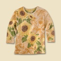 Sunflower Wash Tee
