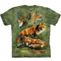Red Fox Collage Tee