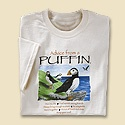 Advice from a Puffin Tee
