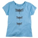 Three Dragonflies Garden Organic Tee