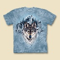 Blue Moon Wolves Tee