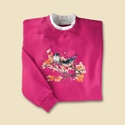 Bluebirds & Blossoms Pullover