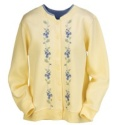 Blue Wildflowers Cardigan