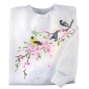 Birds & Blossoms Pullover