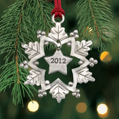 2012 Snowflake Plant a Tree Ornament
